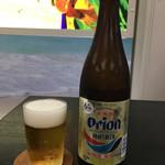 空港食堂 - 「瓶ビール(オリオンビール)」490円に