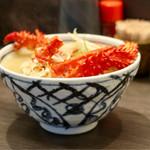 札幌市場めし まるさん亭 - 季節の蟹汁