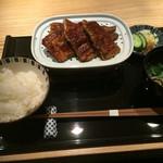 俺のうなぎ - 炙り蒲焼き御膳、通常4500円ランチメニュー2700円