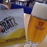 サントリー 天然水のビール工場 東京・武蔵野ブルワリー - 試飲②マスドリ