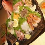 魚我志 むさし - 大漁盛り(2,500円)+得盛り(1,600円)2017年8月