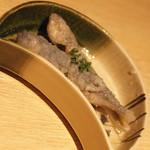 魚我志 むさし - 豆アジ南蛮漬け(300円)2017年8月