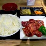三水苑 - 本日の日替わり焼肉ランチ