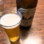 油屋食堂 - 瓶ビール