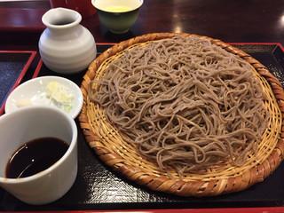 蕎麦倶楽部 佐々木 - もりそば大盛り(1,000+350円)
