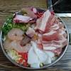 おかめ - 料理写真:お好み焼きのミックス