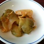 陳麻婆豆腐 - ザーサイ