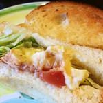 珈麦屋 - トーストサンド ツナ