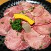 焼肉 ちえ - 料理写真:塩タン@1,150
