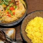 薬膳スープカレー・シャナイア - チキン野菜カレー 1,450円