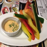 ジムビームバー - 野菜スティック〜(*'▽.'*)ノ¥390円