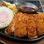 肉の万世 - ハンバーグ&トンカツ(2017.08)