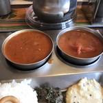 南インド家庭料理 カルナータカー - サンバールとフィニッシュカレー