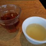 伊太利亜市場BAR - アイスティー、コンソメスープ