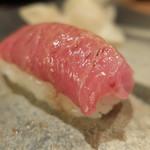 紀文寿司 - 料理写真:9品め:握り(とろ)