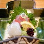 宝塚 しば田 - 料理写真:☆宝塚しば田さん…お造り(≧▽≦)/~♡☆