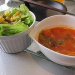 7144662 - スープとサラダ