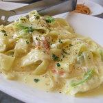 7144665 - ズワイガニと白菜のラグー クリームソース タリアテッレ