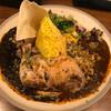 spice&cafe SidMid - 料理写真:Wキーマ(中辛) ※辛さちょい増し無料&ごはん大盛無料 ※ほろほろ炙りチキンレッグ(トッピング)