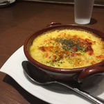 倉式珈琲店 - 料理写真:海老とトマトのクリームドリア。880円。