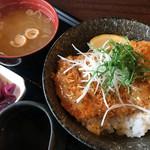 草津白根レストハウス - 塩だれかつ丼1,080円