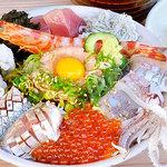 海老丸 - 本日の海鮮丼