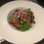 Trattoria Azzurri - 武州和牛ローストビーフのヨロ研サラダ