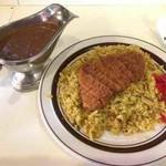 キッチン クック - 料理写真:カツドライカレー
