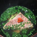 傳 - 牛頬肉のスープ