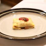 リストランテ ハナタニ - ☆茄子とスカモルツァのクレープ包み焼き