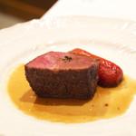リストランテ ハナタニ - ☆神戸牛のロースト シェリービネガーソース