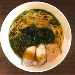 中華そば いぶき - 料理写真:イリコそば    750円