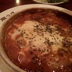 カフェ・ド BGM - ビーフドリア と サラダ