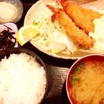 さかな料理 たから - 海老フライ定食