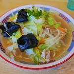 まるいし - チャンポン麺(680円)
