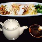 紫福庵 - 「日替わり満腹《寿》昼菜」前菜冷菜五品&熱茶