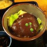 味司 野村 - 孫膳(デミカツ丼)