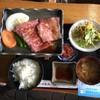 ドライブイン 数河 - 料理写真:飛騨牛鉄板焼き(税込1500円)