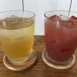 エミュー - 100%アップルジュース、100%ミックリベリージュース