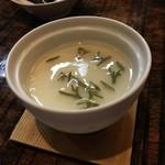 海の神山の神 - 冷やし豆乳茶碗蒸し