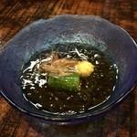 海の神山の神 - 海素麺(もずく酢)