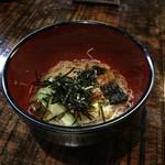 海の神山の神 - うざく素麺