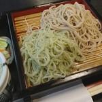 竹ふく - 料理写真:二色せいろ