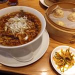 鼎泰豊 - サンラータン麺セット1556円