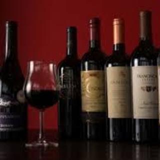 ソムリエお勧めの充実ワインのラインナップ