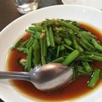 香蘭 - 空心菜炒め