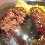 ハンバーグ&ステーキ食堂 KURAUZO - 肉汁が凄い