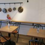 ナイス トゥー ミート ユー コダマ - クリーンなカフェ的空間の2F2
