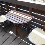 ソラトカフェ - ベンチ席