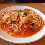 洋食バル マカロニ食堂 - スパゲティ(ノ´∀`*)